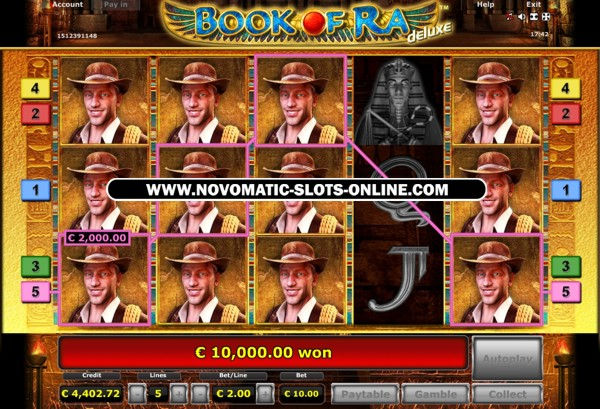 casino book of ra online lady charm